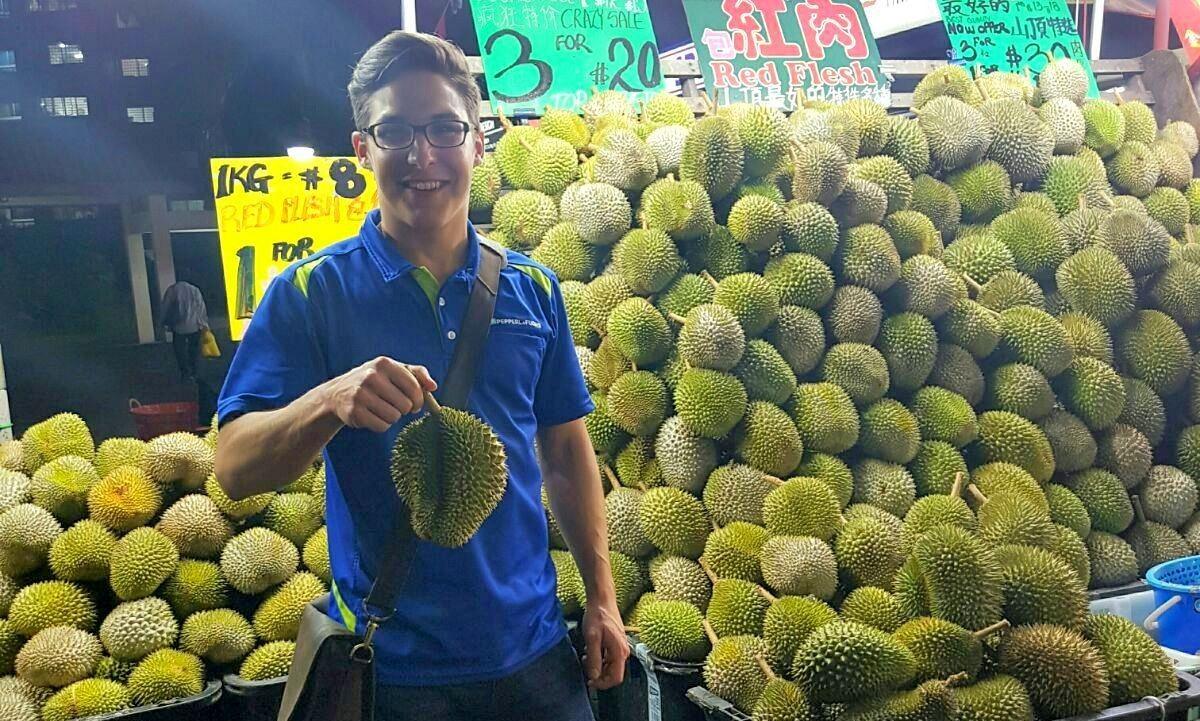 Sogar die Durian werde ich vermissen