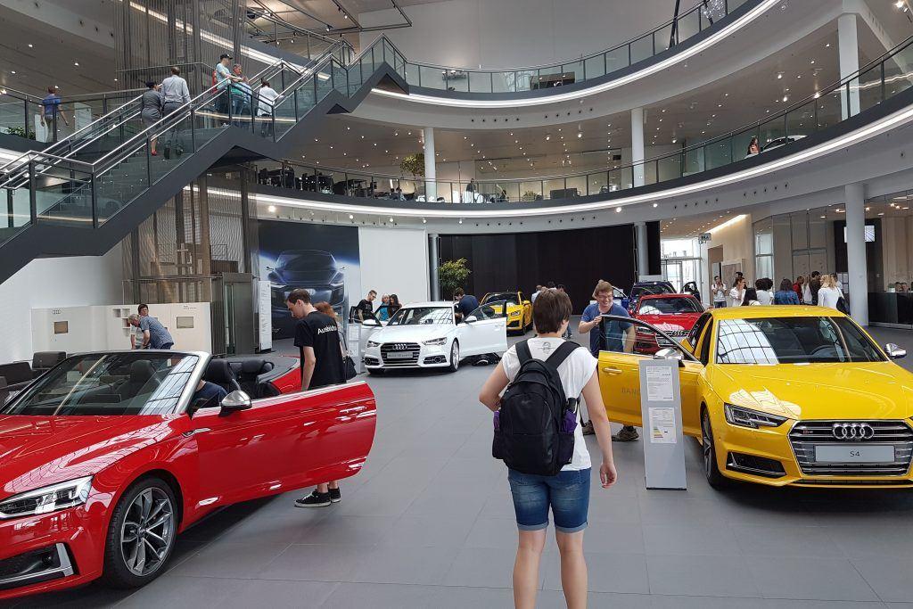 Besichtigung des Audi Forums