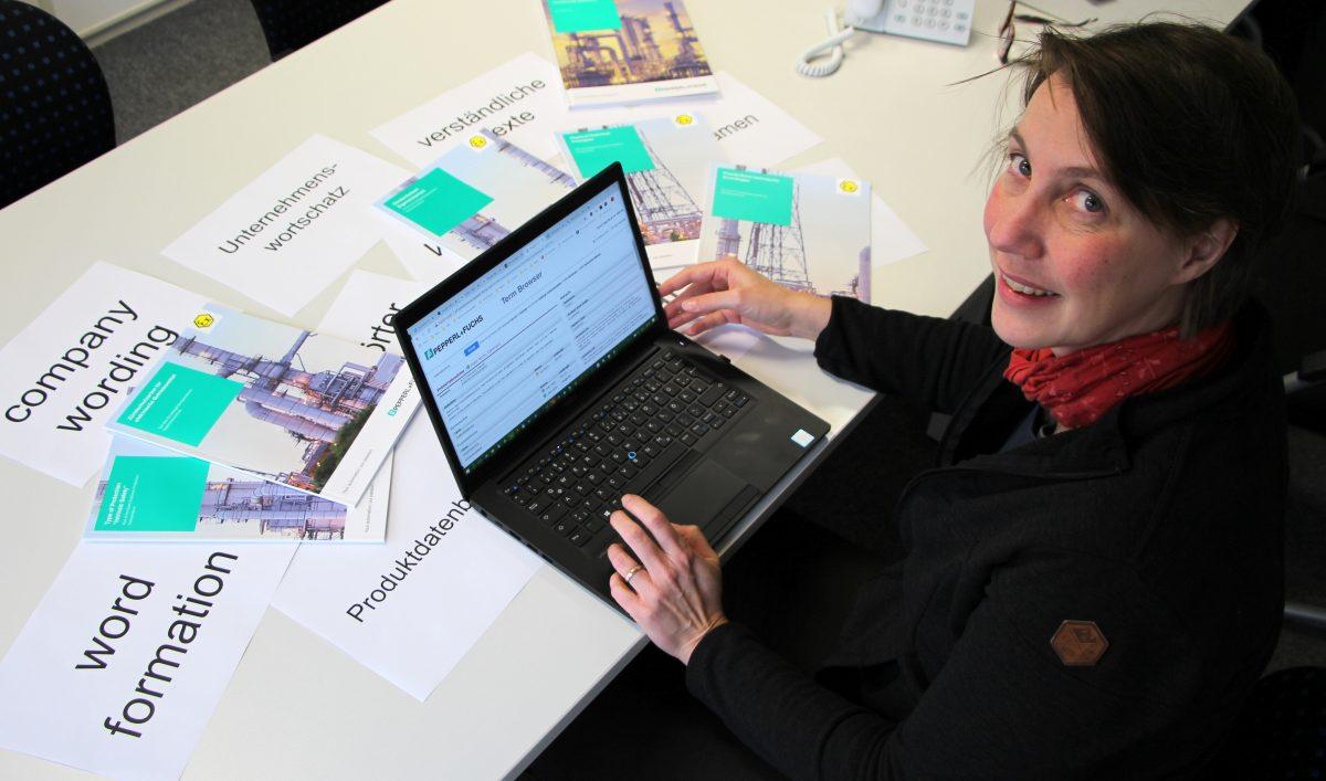 Susanne Farsch - technische Redakteurin bei Pepperl+Fuchs