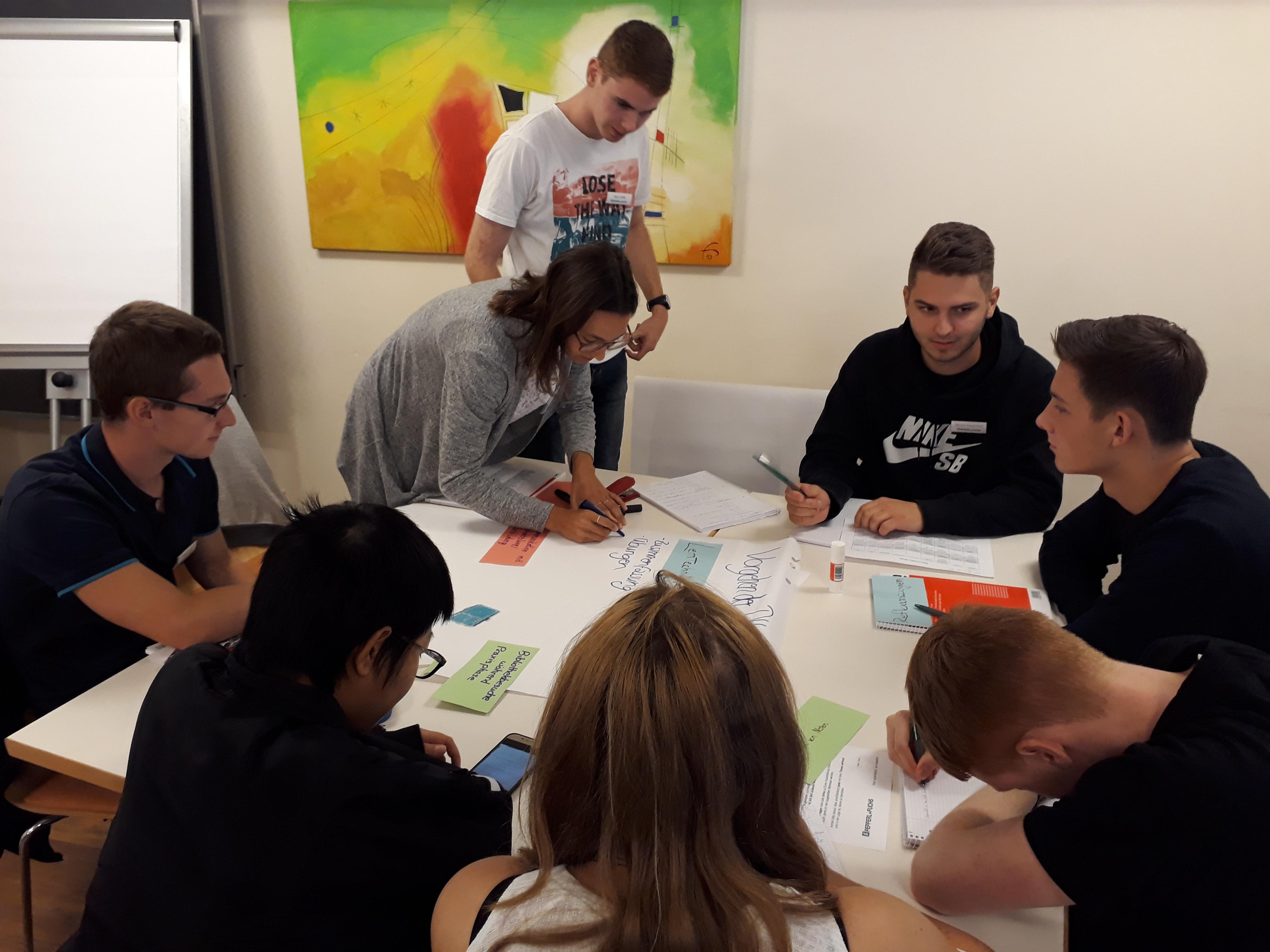 Einführungsseminar 2019 - Bei der Gruppenarbeit