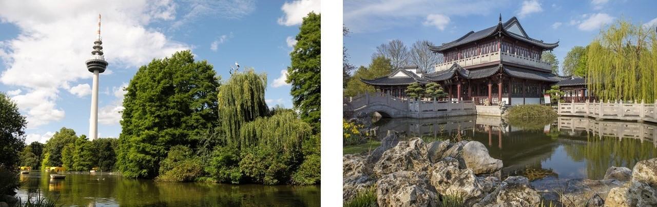 Leben in der Quadratestadt Mannheim - Luisenpark